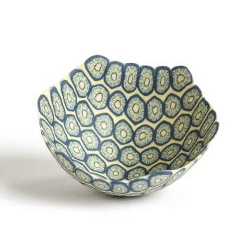 Dorothy Feibleman (American, B. 1951) Millefiore Design Bowl