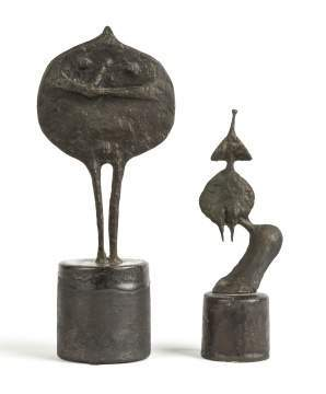 Ruth Duckworth (British, 1919-2009) Two Sculptures