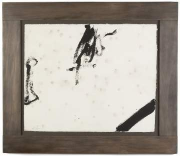Antoni Tàpies (Spanish, 1923-2012) Untitled