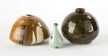 Three Various Vases