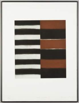 Sean Scully (American/Irish, Born 1945) Large Mirror II