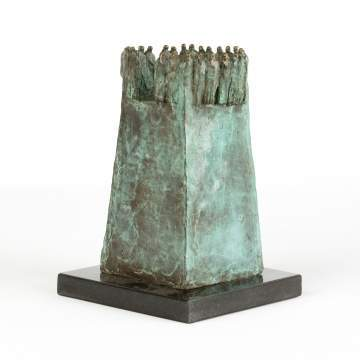 Mario Irarrazabal (20th century), Bronze Sculpture