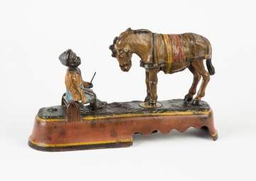 Always Did 'Spise a Mule Cast Iron Mechanical Bank