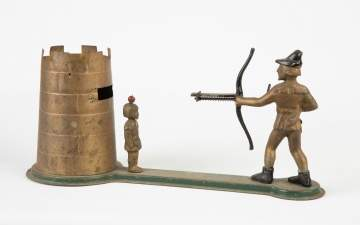 William Tell Mechanical Money Bank