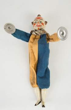 Vintage Clown Squeak Toy
