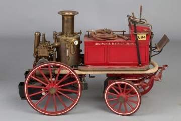 Shand Mason Engineers, London, Fire Engine Model