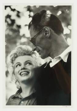 Ken Heyman (American, Born 1930) Photo of Marilyn Monroe and Arthur Miller