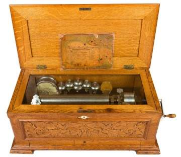 Jacot's Patent 10 Tune Music Box