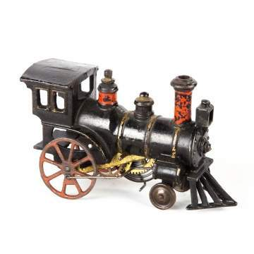 Cast Iron Clockwork Train