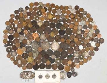 Various Coins and Currency