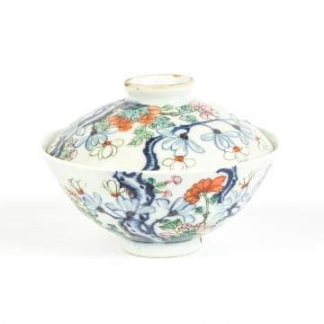 Chinese Porcelain Covered Bowl