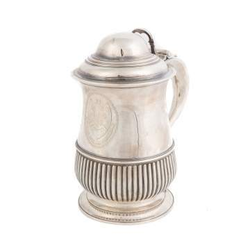 William Cripps, London, Sterling Silver Tankard