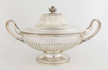 Tiffany and Co. Makers Sterling Silver Covered Tureen
