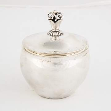Georg Jensen Sterling Silver Covered Box