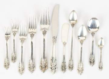 Wallace Sterling Silver Flatware - Grand Baroque Pattern