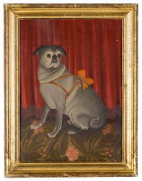 Painting of a Pug