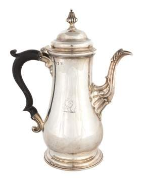 George III Sterling Silver Coffee Pot
