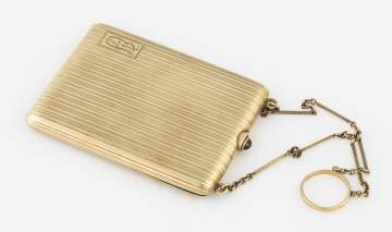 14K Gold Cigarette Case