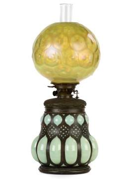 Fine and Rare Tiffany Studios Moorish Lamp