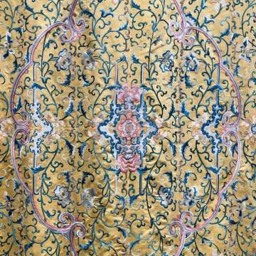 Fine Chinese Embroidered Silk Panel