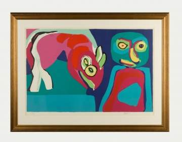 Karel Appel (Dutch, 1921-2006) Lithograph