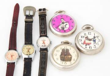 Vintage Pocket Watches and Wrist Watches