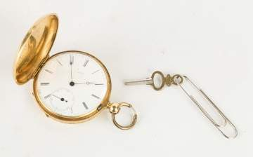 F. J. Baron, Geneva, 18K Gold Pocket Watch