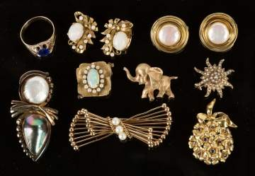 Collection of Victorian 14K Gold Jewelry