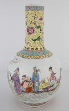Chinese Porcelain Hand Painted Vase