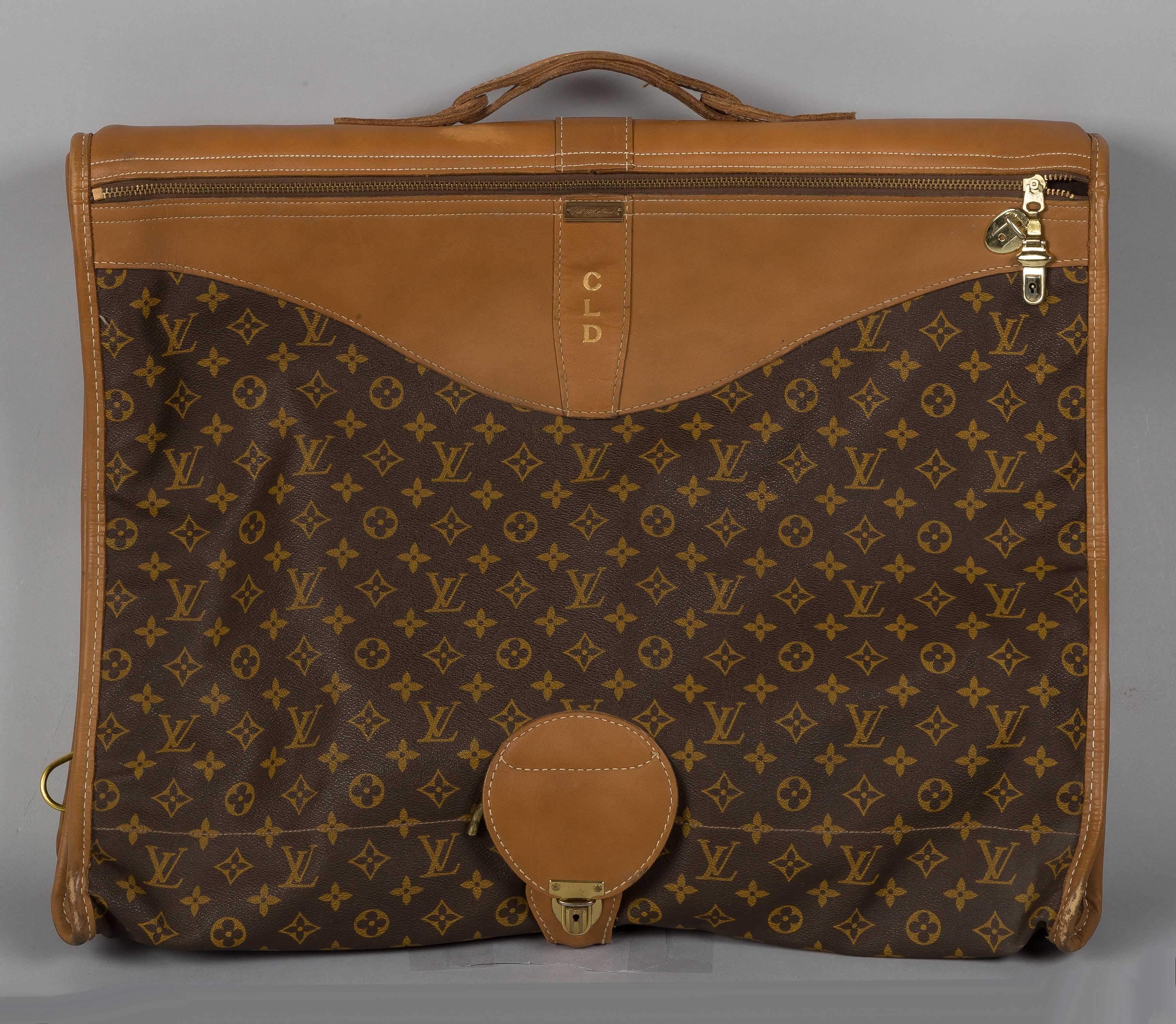 00e104d2b3fd Vintage Louis Vuitton Garment Bag