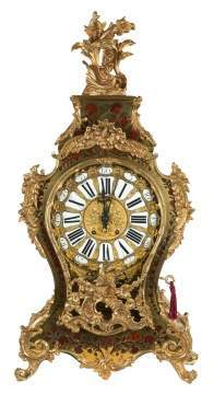 Tiffany & Co. Gilt Bronze and Boulle Clock