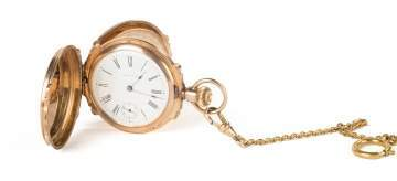 Waltham 14K Gold Pocket Watch