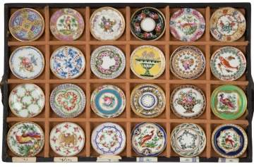 Rare Salesman Sample Sevres Dinner Plates