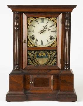 "Atkins Clock Co. ""London"" Model Shelf Clock"