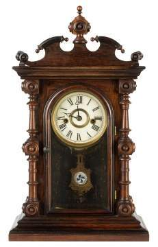 E. N. Welch Cary Shelf Clock