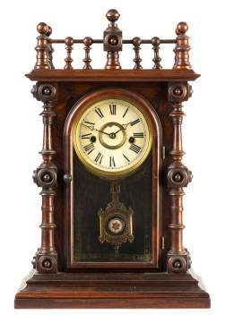 E. N. Welch Gestner Shelf Clock