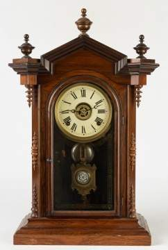 E. N. Welch Lucca Shelf Clock