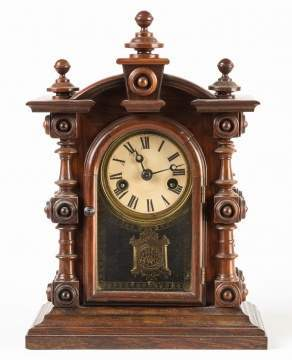 E. N. Welch Miniature Patti Shelf Clock