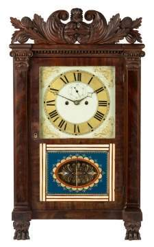 Spencer, Hotchkiss and Co. Salem Bridge Shelf Clock