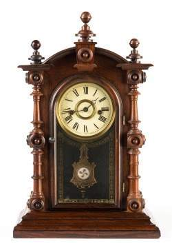 E. N. Welch Patti VP Shelf Clock