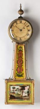 William Cummens Banjo Clock