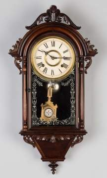 E.N. Welch Hanging Italian Wall Clock