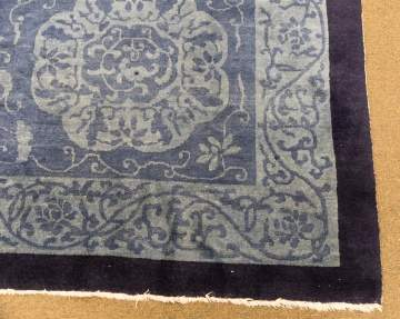 Fine Antique Chinese Carpet with Overall Design