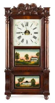 Forestville Triple Decker Shelf Clock