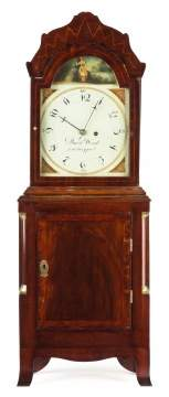 David Wood, Newburyport, MA, Shelf Clock