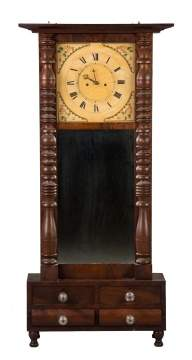 Large Abner Jones Shelf Clock