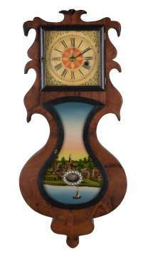 J. C. Brown, Forestville, CT, Acorn Wall Clock