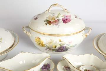 Extensive Set of KPM Porcelain Dinnerware and Tableware
