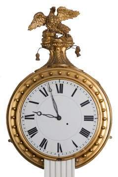Rare Simon Willard Gallery Clock