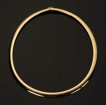 Omega 14K Gold Necklace